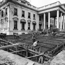 Clichés historiques des travaux de rénovation de la Maison Blanche