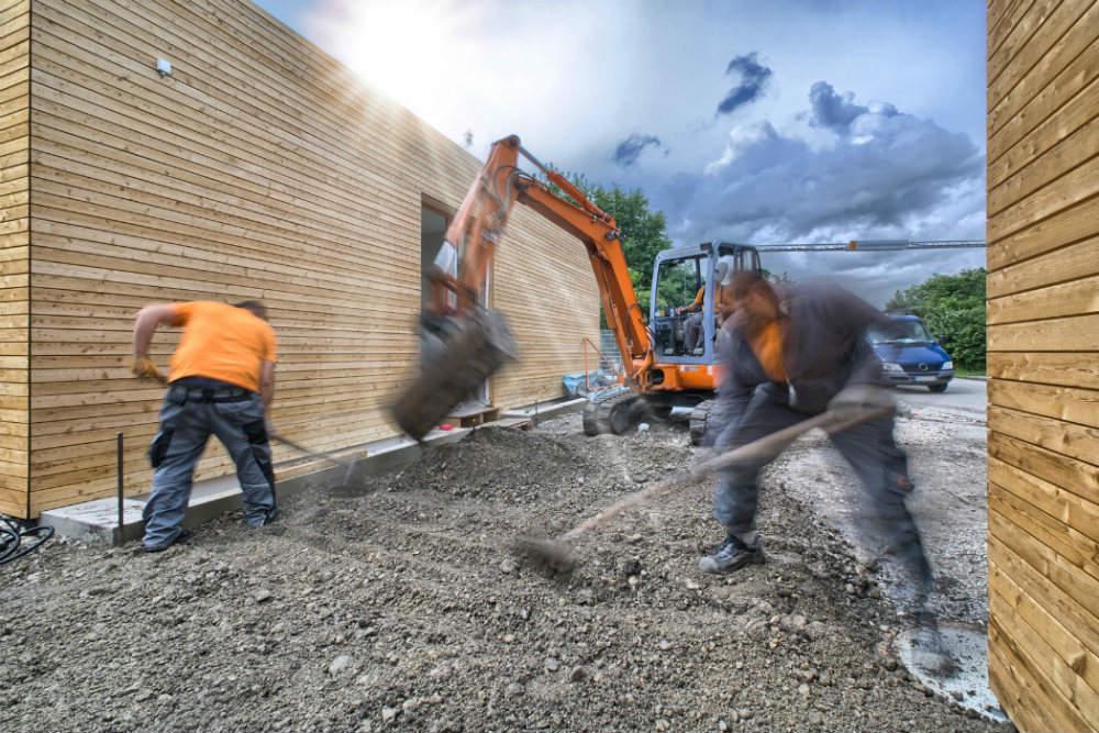 Tarif horaire d un terrassier pour terrassement for Prix terrassement m2