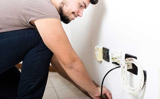 travaux réfection électrique