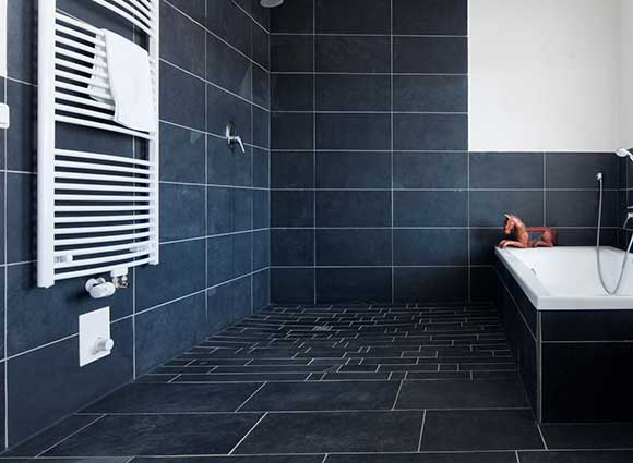 carrelage salle de bain facile a poser. Black Bedroom Furniture Sets. Home Design Ideas