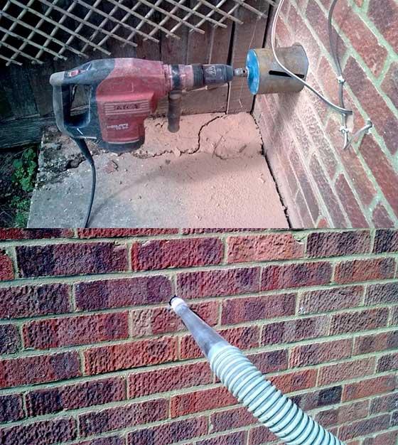 Traitement murs humides - Traitement contre humidite mur ...