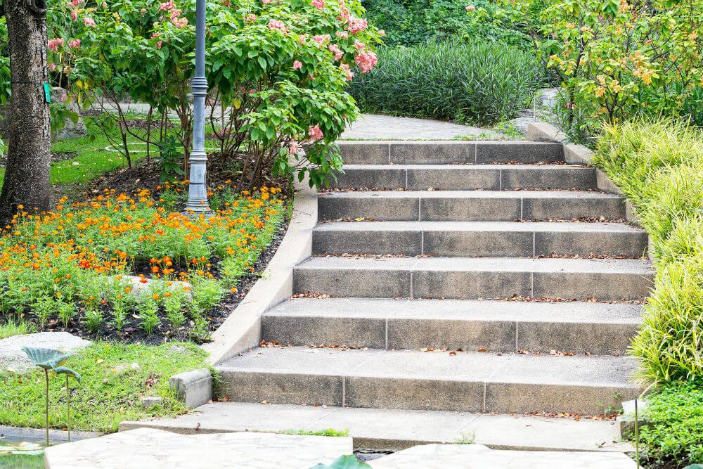 Prix d un escalier en pierre - Marche en pierre exterieur ...