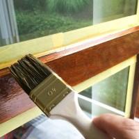 Peindre une fen tre en bois for Peut on peindre des fenetres en pvc