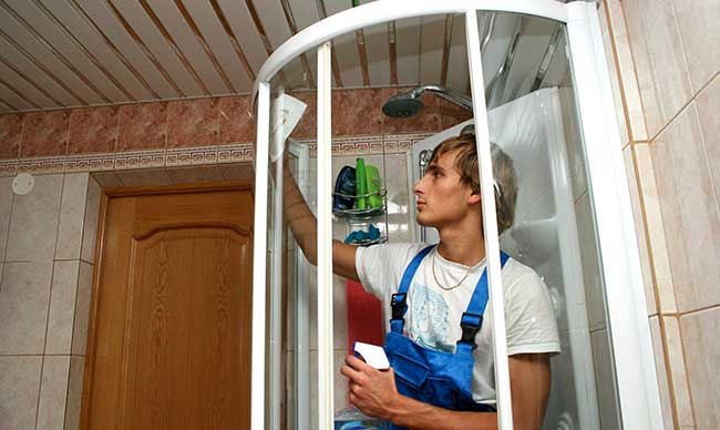 Installer une cabine de douche for Installation cabine douche