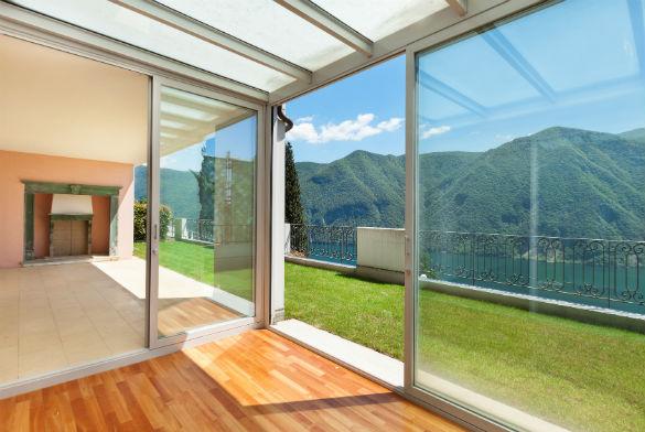 baie vitrée double vitrage