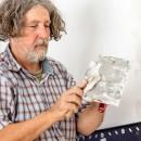 Reboucher une fissure mur ou plafond