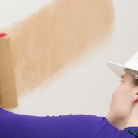 Peindre sur du papier peint - Peindre sur du stratifie ...