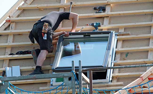 déposer fenêtre toit