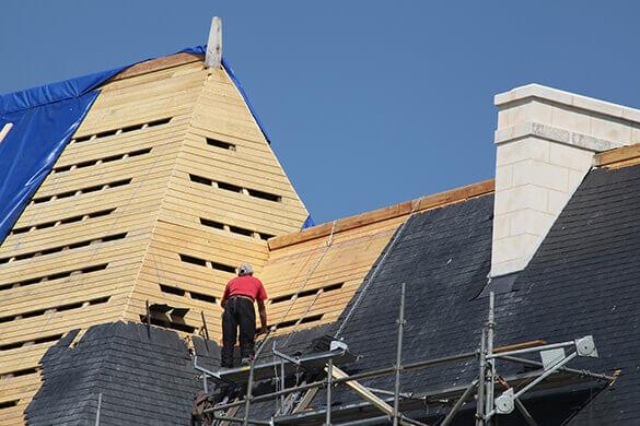 comment poser un toit
