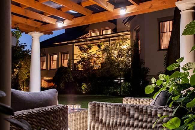 estimation prix éclairage extérieur maison