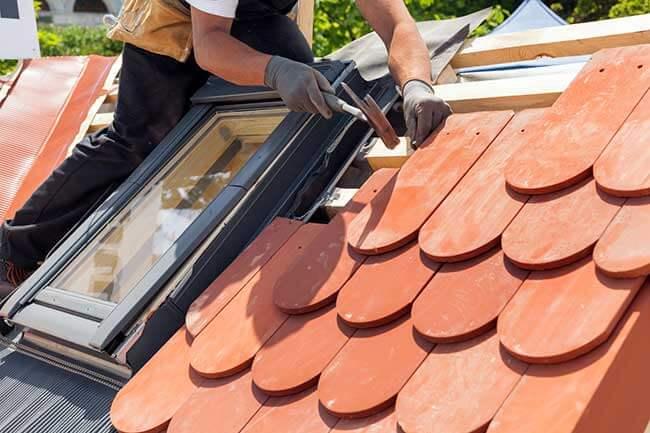 prix travaux modifier pente toit