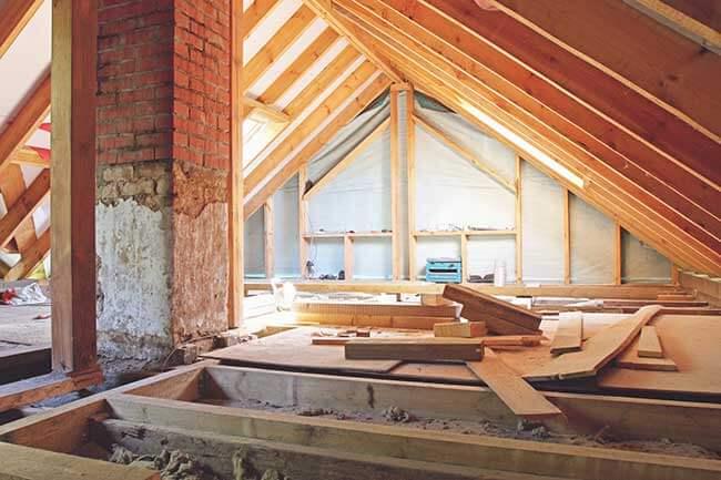 rehausser toiture de maison