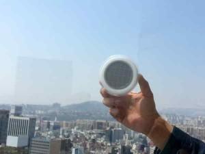 Panneaux solaires de la window socket