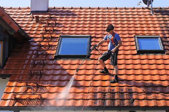 comment nettoyer une toiture au karcher