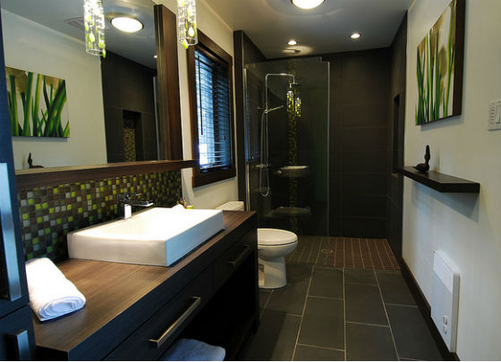 poser un chauffage dans sa salle de bains. Black Bedroom Furniture Sets. Home Design Ideas