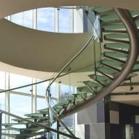 Prix d'un escalier en verre