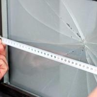 Réparer une vitre de fenêtre cassée