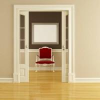 Poser une porte à galandage