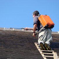 Nettoyer une toiture en ardoise