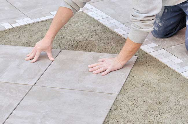 Pose De Carrelage Exterieur Sur Dalle Beton With Pose De Carrelage
