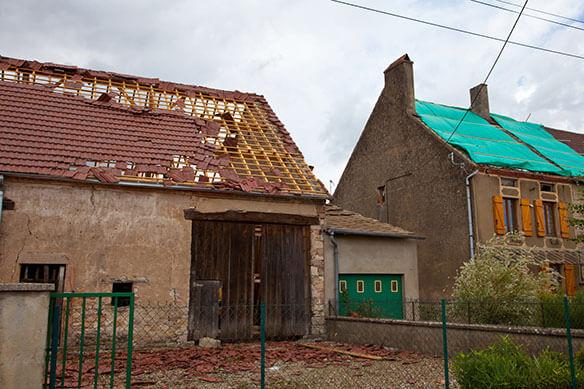 tarif reparation toiture