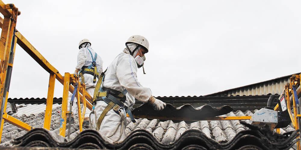 R novation de toiture en fibro ciment - Ardoise fibro ciment amiante ...