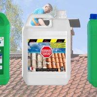 Prix des produits de nettoyage de toiture