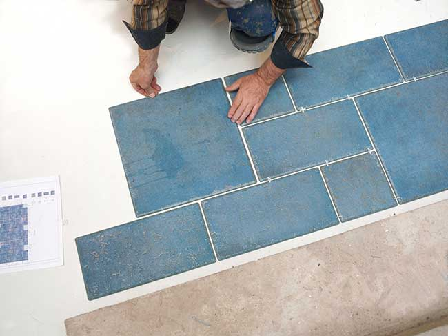 comment faire calepinage carrelage