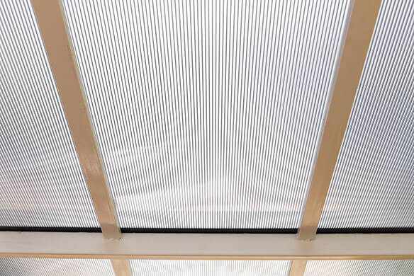 toiture polycarbonate ondulé