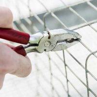 Faire une clôture en gabion