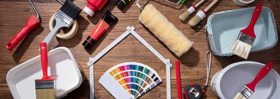 Matériel pour travaux de peinture