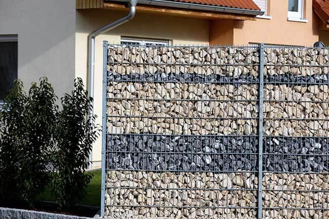 prix clôture en gabions