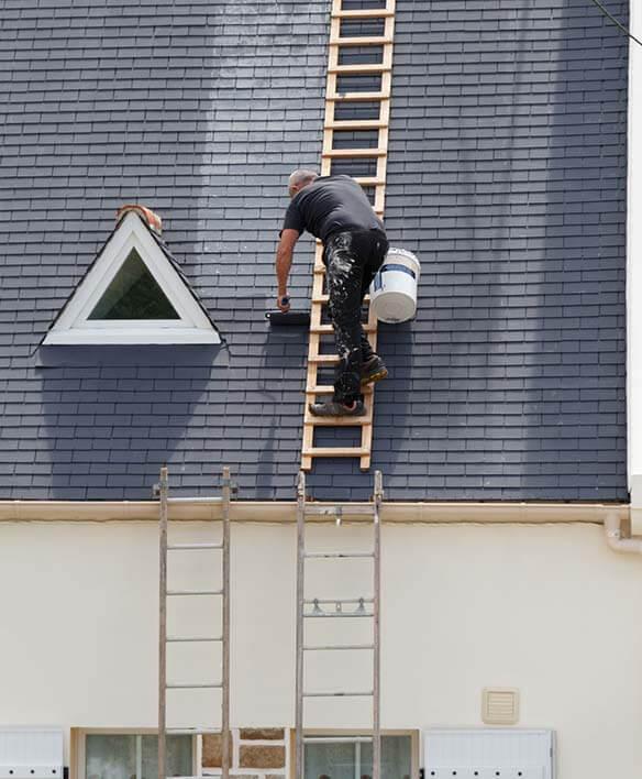 comment peindre sa toiture