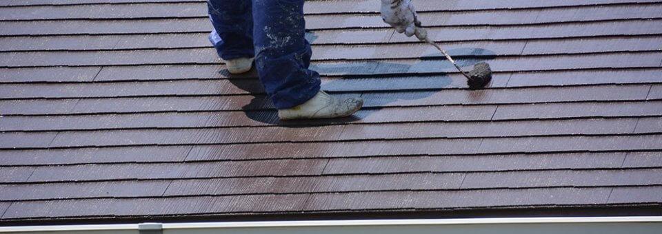 Comment peindre sa toiture?