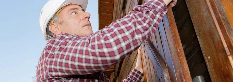 Réparer des volets bois dont le bois est pourri