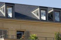 Chien assis sur toiture: tarif et pose