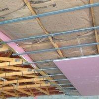 Plafond en plaque de plâtre coupe feu