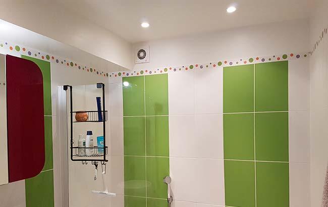 installation extracteur air salle de bains