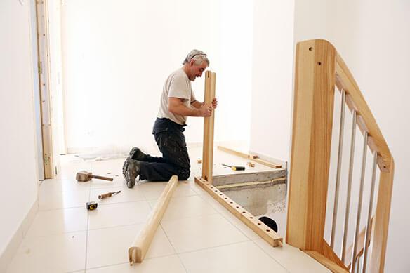 dimensions pour un escalier