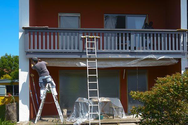 peinture risque chaleur