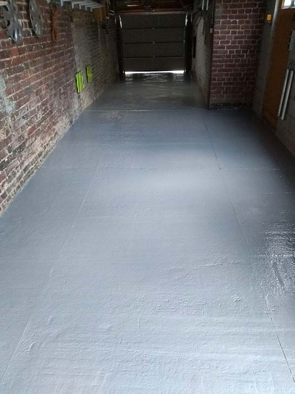 comment peindre sol béton garage