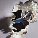 Réparer un trou dans un mur en placo