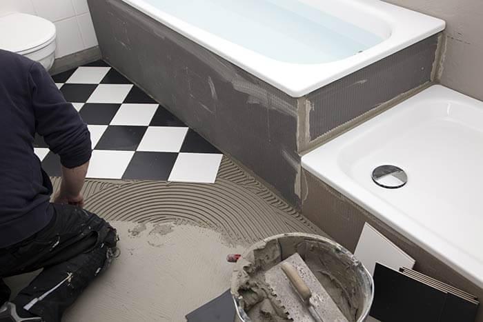prix création nouvelle salle de bains