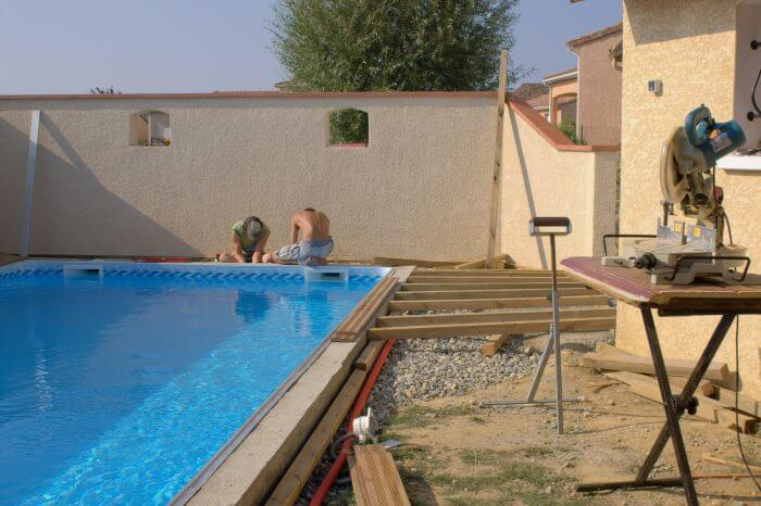 prix piscine en beton traditionnelle