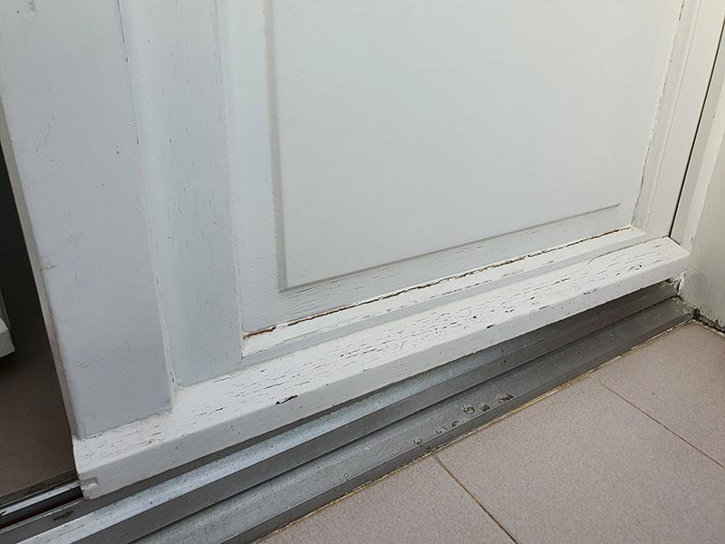 réparer fenêtre bois en mauvais état