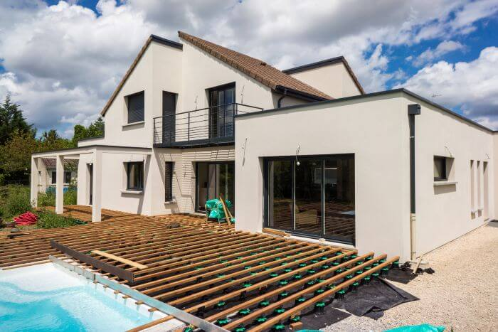 terrasse plots pour lames bois ou composite