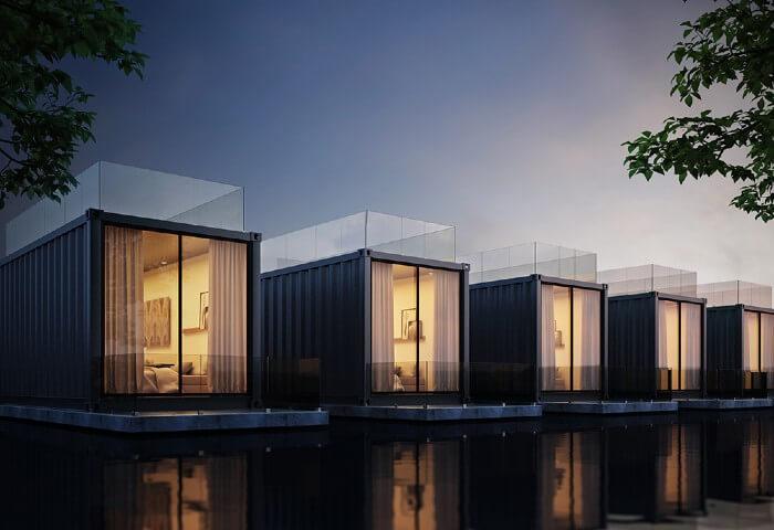 tarif constructeur maison container