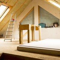 Isolation sous rampants de toiture