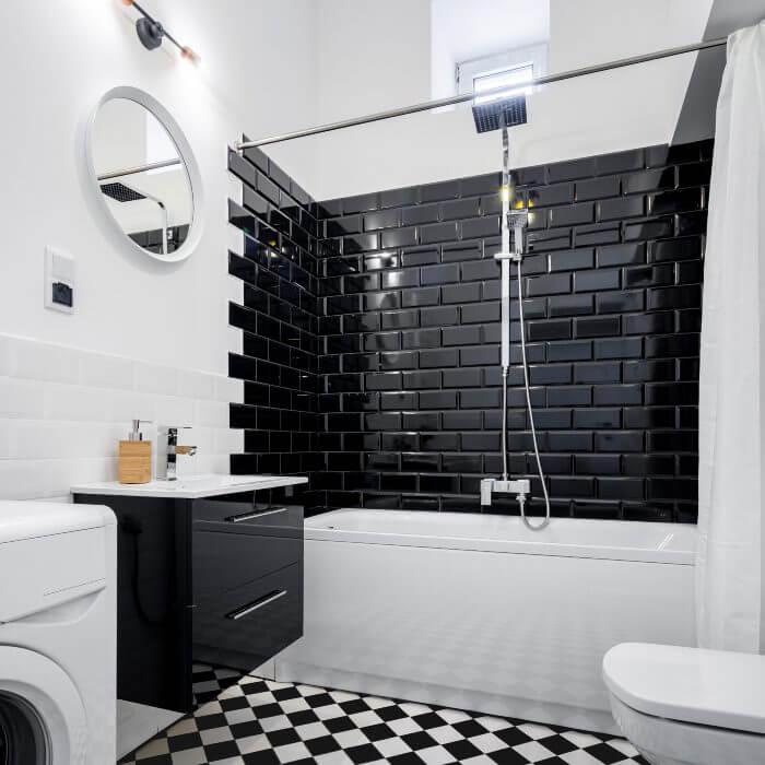 techniques faciles relooker murs salle bain