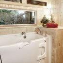 Prix pour l'installation d'une baignoire à porte